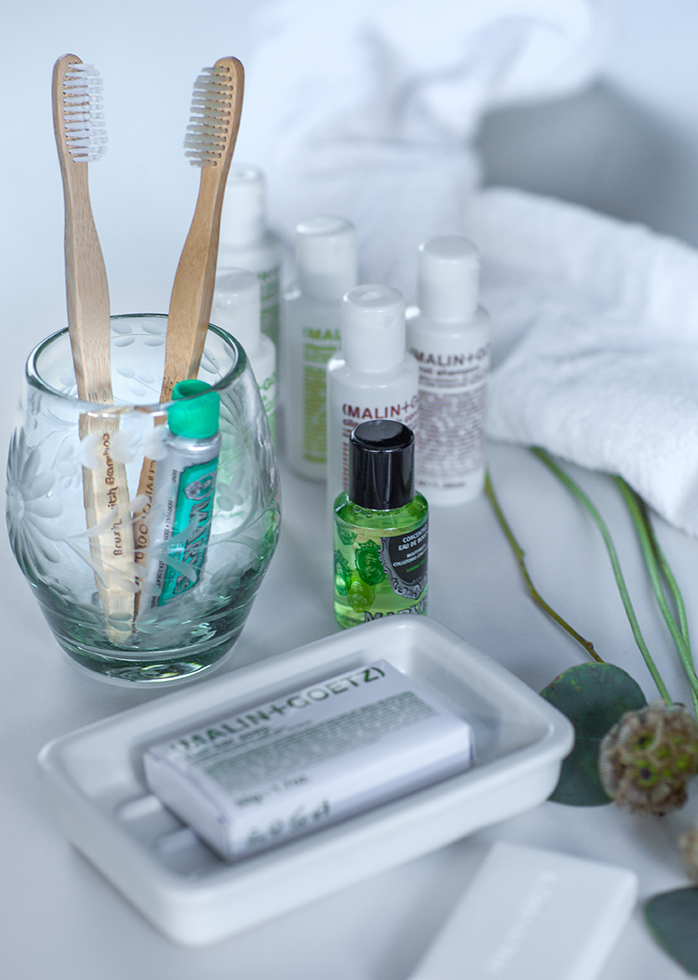 A picture of Hotel Emma's room amenities