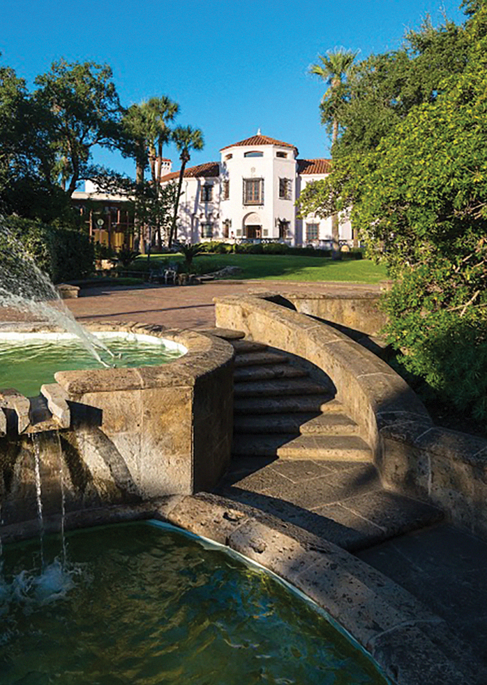 Picture of the exterior of the McNay Art Museum located in Alamo Heights.