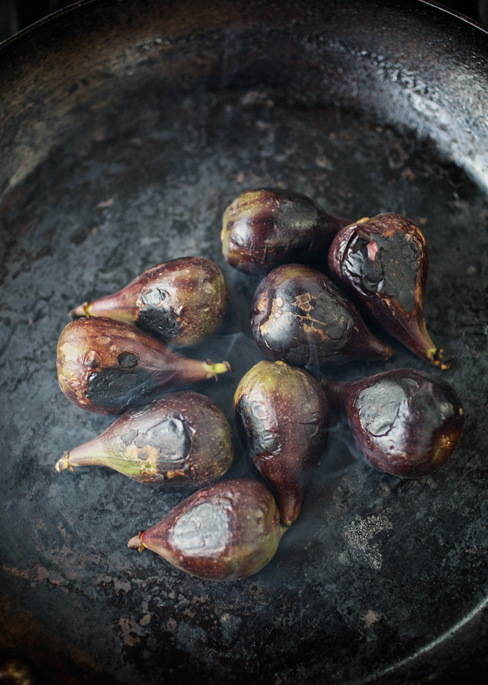 Picture of figs cooking at Hotel Emma