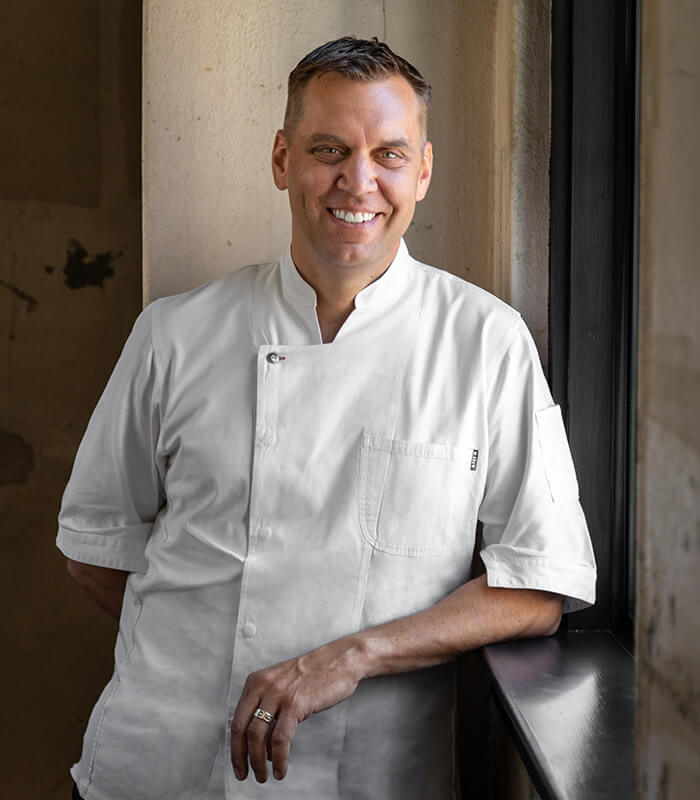 Portrait of the Chef John Brand.