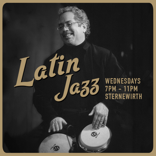 Henry Brun performing at Latin Jazz Wednesdays at Sternewirth in Hotel Emma