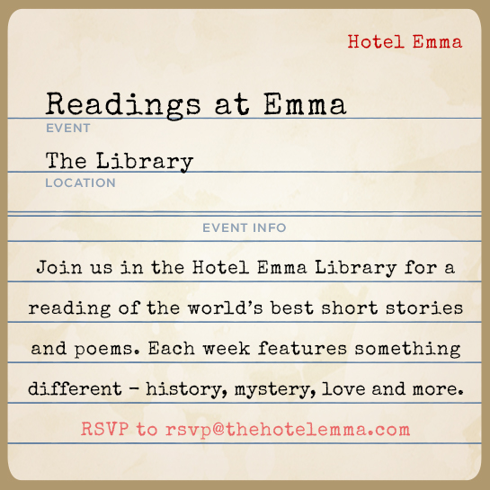 readings at emma great love letters by various authors